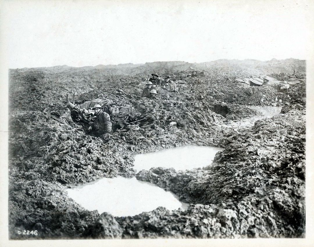 Second_Battle_of_Passchendaele_-_16th_Canadian_Machine_Gun_Company